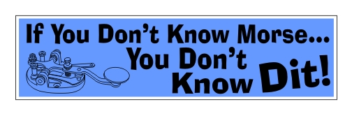 You Don't Know Dit! Bumper Sticker