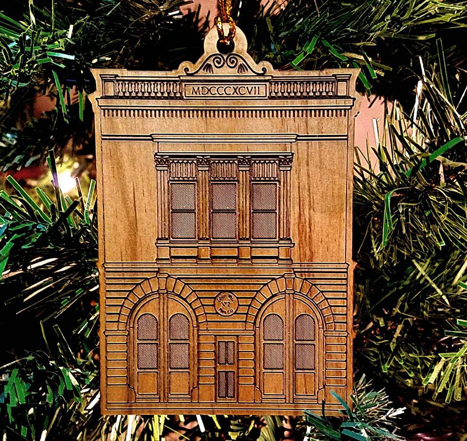 Good Will Fire Co. No. 2 Christmas Ornament
