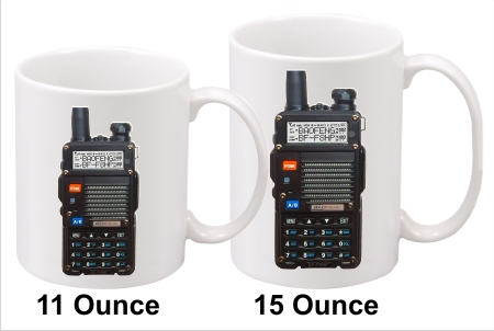 Baofeng BF-F8HP Handy Talkie Coffee Mug