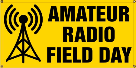 Amateur Radio Field Day Banner - Small
