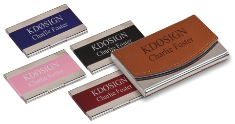 Callsign & Name Business Card Holders