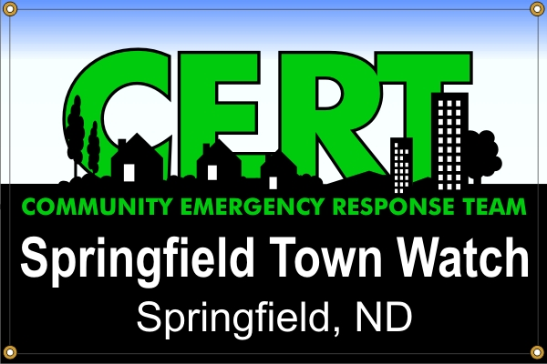 CERT - Community Emergency Response Team Banner