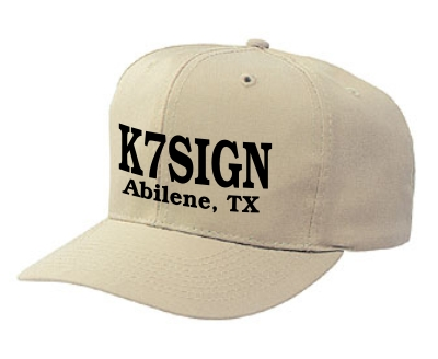 Callsign Cap - Solid Back