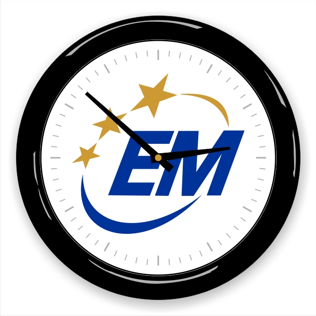Emergency Management Association (EMA) Logo Wall Clock