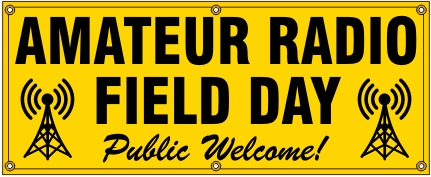 Amateur Radio Field Day Banner - Large