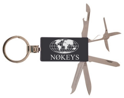 Callsign Keychain with Tools
