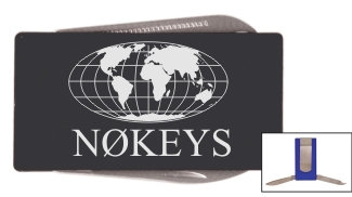 Callsign Money Clip with Tools - Annodized