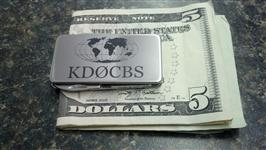 Call Sign Money Clip - Stainless