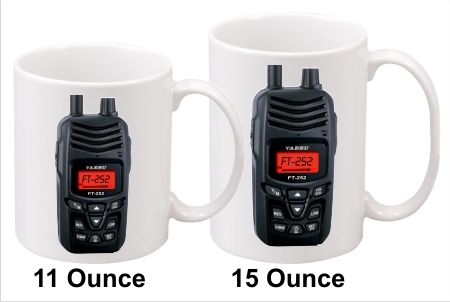 Yaesu FT-252 Handy Talkie Coffee Mug