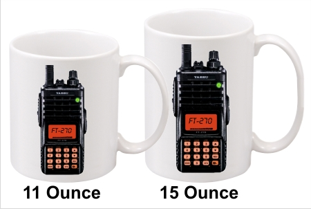 Yaesu FT-270R Handy Talkie Coffee Mug
