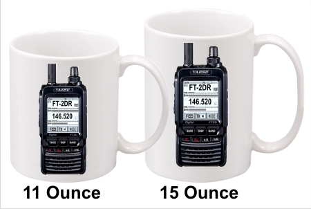 Yaesu FT-2DR Handy Talkie Coffee Mug
