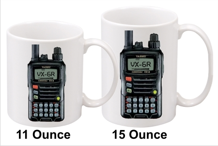 Yaesu FT-6 Handy Talkie Coffee Mug