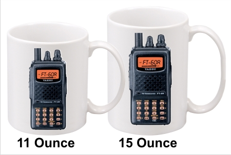 Yaesu FT-60R Handy Talkie Coffee Mug