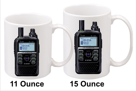 Icom ID-31A Handy Talkie Coffee Mug