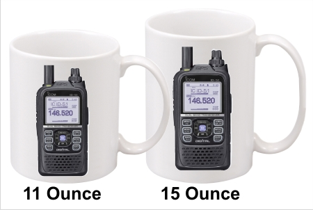 Icom ID-51 Handy Talkie Coffee Mug