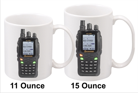 Wouxun KG-UV8D Handy Talkie Coffee Mug