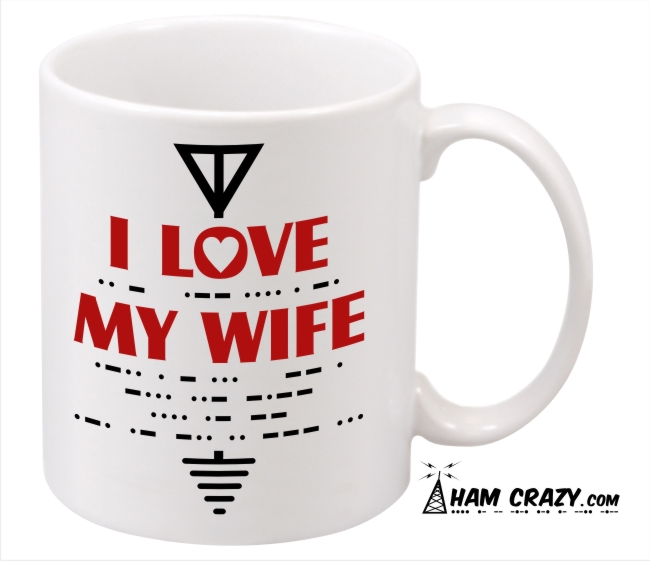 I Love My Wife CW Secret Message - Coffee Mug