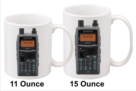 Kenwood TH-D72A Handy Talkie Coffee Mug