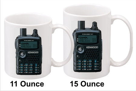Kenwood TH-F6A Handy Talkie Coffee Mug