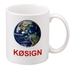 Ham Radio Callsign Mug - Coffee Mug - 11 oz.