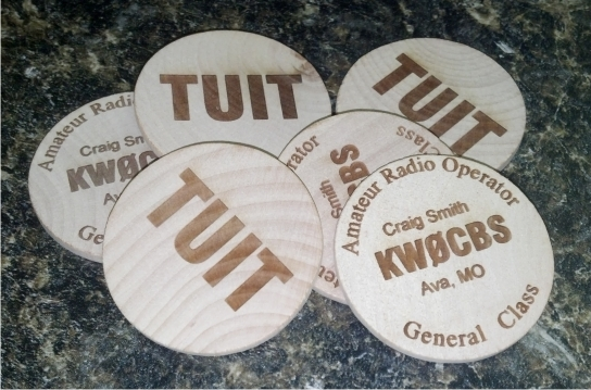 QSL Call Sign TUIT Tokens