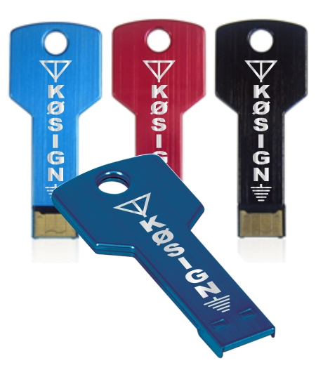 8 GB Callsign Key USB Flash Drive