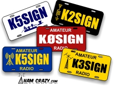 Call Sign Decal Lettering (Set of 2)
